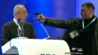 getlinkyoutube.com-Brazen Assassination Attack on Politician Caught on Tape | ABC World News Tonight | ABC News