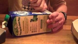 getlinkyoutube.com-Quail Feeder  Recycled Milk Cartons