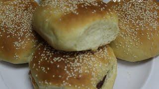getlinkyoutube.com-يومات شري طريقة عمل خبز البرجر بالسمسم
