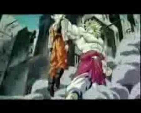 DBZ-Goku vs. Broly-Linkin Park-Forgotten