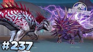 getlinkyoutube.com-Indominus Rex Takes On Juggernaut 32! || Jurassic World - The Game - Ep237 HD