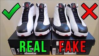 getlinkyoutube.com-Jordan 13 He Got Game Authentic Vs. Fake from eBay