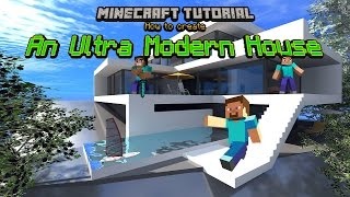 getlinkyoutube.com-Minecraft Tutorial: Ultra Modern House