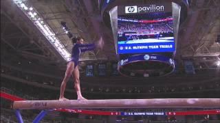 getlinkyoutube.com-Gabby Douglas' routines from the 2012 Olympic Gymnastics trials