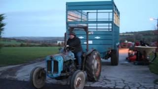 getlinkyoutube.com-#Onthepull - fordson dexta pulling 19 tons - Brendan Marshall