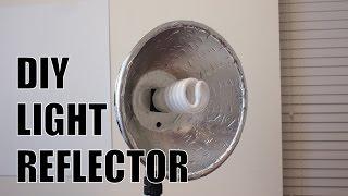getlinkyoutube.com-Cheap DIY Studio Light Reflector