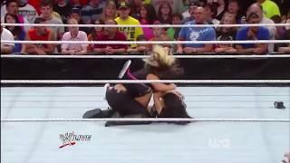 Katlyn Oops Moment | Nipple Slip | WWE Highlights width=