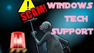 getlinkyoutube.com-Windows tech support scam (caution)