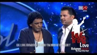 getlinkyoutube.com-كلام محمد منير للجنه التحكيم و الجمهور من برنامج Arab Idol