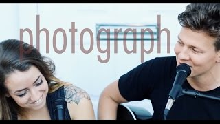getlinkyoutube.com-Ed Sheeran - Photograph - Tyler Ward & Anna Clendening (Acoustic Cover) - Official Music Video