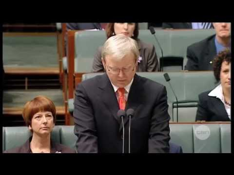 On this day | 13th February 2008 | Kevin Rudd apologises to Australia's stolen generations