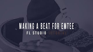 How To Make A Beat For Emtee In 11 Min (FL STUDIO beginners Tutorial)