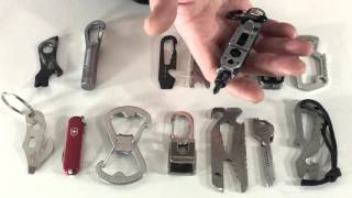 getlinkyoutube.com-15 Different Key Chain Tools: Everyday Carry Series, Part 14 | Leatherman, Gerber, NiteIze, And More
