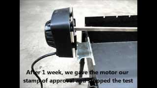 getlinkyoutube.com-Universal BBQ Spit Rotisserie Kit - Motor stress test