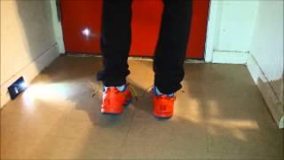 getlinkyoutube.com-Kobe 8 YOTH On Foot Review
