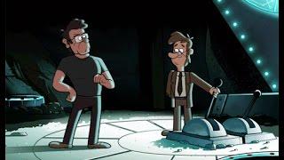 getlinkyoutube.com-Gravity Falls ¿Quien escribió los diarios? Phil Los Guía A Lo Inexplicable