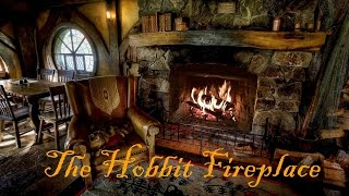 getlinkyoutube.com-Hobbiton Movie Set Fireplace Ambience featuring Pickles the Cat!