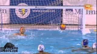 getlinkyoutube.com-Barceloneta 10 Pro Recco 10 Champions League 2014 19 12 13 water polo