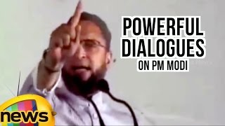 Asaduddin Owaisi Powerful Dialogues On Prime Minister Narendra Modi   Mango News