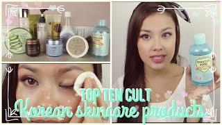 getlinkyoutube.com-Part 1: Top 10 Best Korean Cult / Must Have Skincare Product Favorites