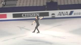 150329 Yuzuru Hanyu Worlds Gala Practice Run Through 羽生結弦 世界選手権エキシビション曲かけ練習