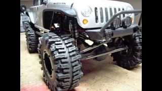 RC Axial scx10 2012 Jeep Wrangler Rubicon  Modified, wraith, honcho, dingo, Sweet crawler