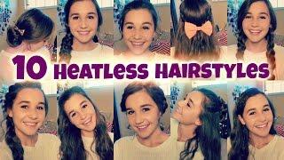 getlinkyoutube.com-10 Back to School Heatless Hairstyles