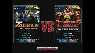 getlinkyoutube.com-Real Steel WRB Tackle VS Crimson Carnage NEW updating