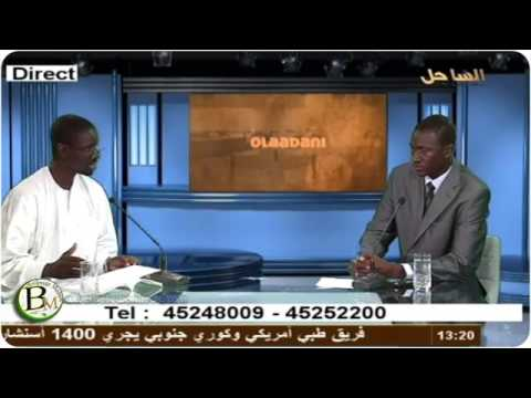 olaadani TV SAHEL avec Demba Cisse 2013-05-19