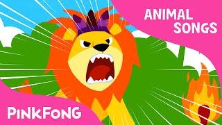 getlinkyoutube.com-The Lion | Animal Songs | PINKFONG Songs for Children
