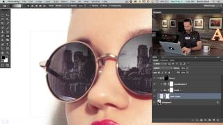 getlinkyoutube.com-How to Add a Reflection to Sunglasses in Photoshop