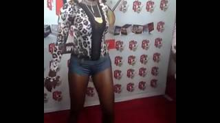 Popular Ghanaian Star Caught Live on Red carpet almost Unclad!! Watch Video