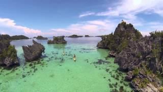 getlinkyoutube.com-Aerial tour of Misool Eco Resort