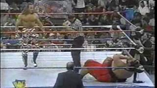 getlinkyoutube.com-Yokozuna vs Shawn Michaels on Raw