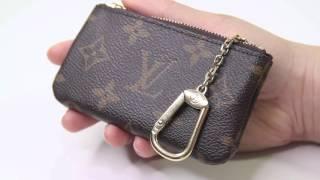 getlinkyoutube.com-Louis Vuitton Key Pouch Wear and Tear 2016