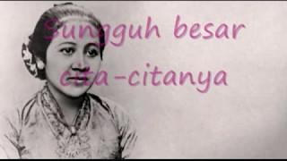Lagu Wajib Nasional   Ibu Kita Kartini With Lirik