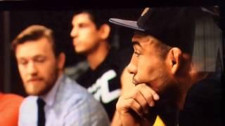 McGregor vs Aldo TuF 22 Finale! Altercation And Stare down for UFC 194!