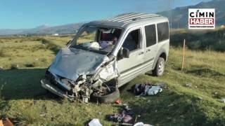 Yeni Evli Çift Erzincan'da Kaza Yaptı: 2'si Ağır 4 Yaralı