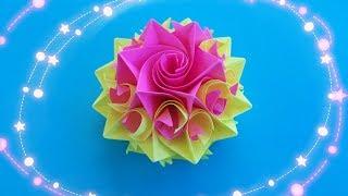 getlinkyoutube.com-Как Из Бумаги Сделать Цветок Розу Видео Мастер Класс. Подарок Своими Руками
