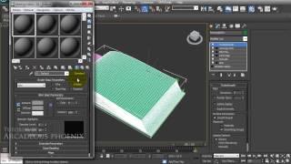getlinkyoutube.com-3d book animation tutorial for 3dsmax ver. 2 plus texturing.