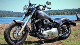 getlinkyoutube.com-2014 Harley-Davidson Softail Slim vs Victory Gunner Part 1 - MotoUSA