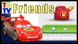 getlinkyoutube.com-Cars: Fast as Lightning - How to add Friends and get more Gas