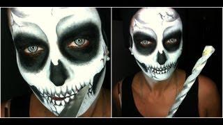 getlinkyoutube.com-☯ Skull Trasformation [Sub Eng] • Halloween Series 2012
