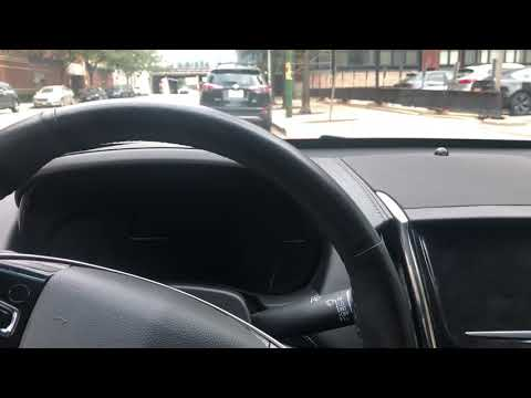 Cadillac ATS - Traction control button location