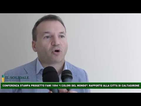"""Video: Caltagirone: Conferenza stampa PROGETTO FAMI 1094 """"I Colori del mondo"""": Rapporto a Caltagirone"""