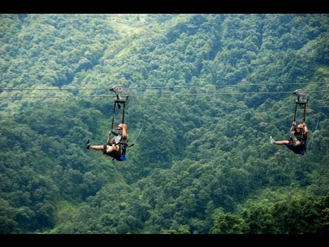 World's most extreme zipline - ZipFlyer Nepal