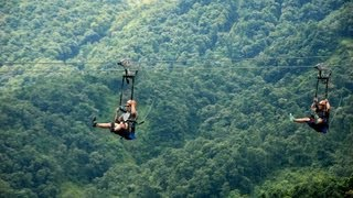 getlinkyoutube.com-World's most extreme zipline - ZipFlyer Nepal
