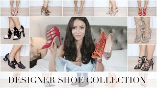 getlinkyoutube.com-MY DESIGNER SHOE COLLECTION | Chanel, Gucci, Valentino, Aquazzura