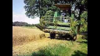 getlinkyoutube.com-Getreide und Strohernte 2012 bei uns kleinbauern