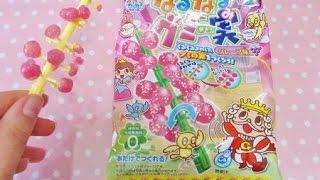 getlinkyoutube.com-Popin cookin gummy tree candy - ITA :) | Erikakawaii